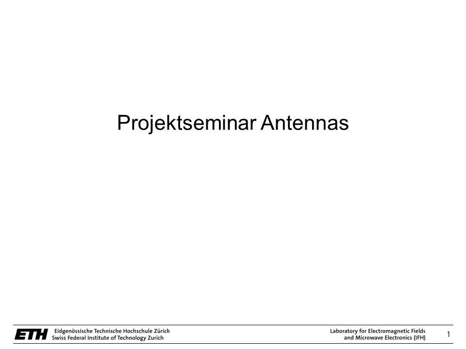 Projektseminar Antennas
