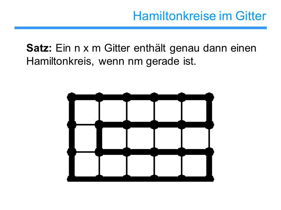 Hamiltonkreise im Gitter