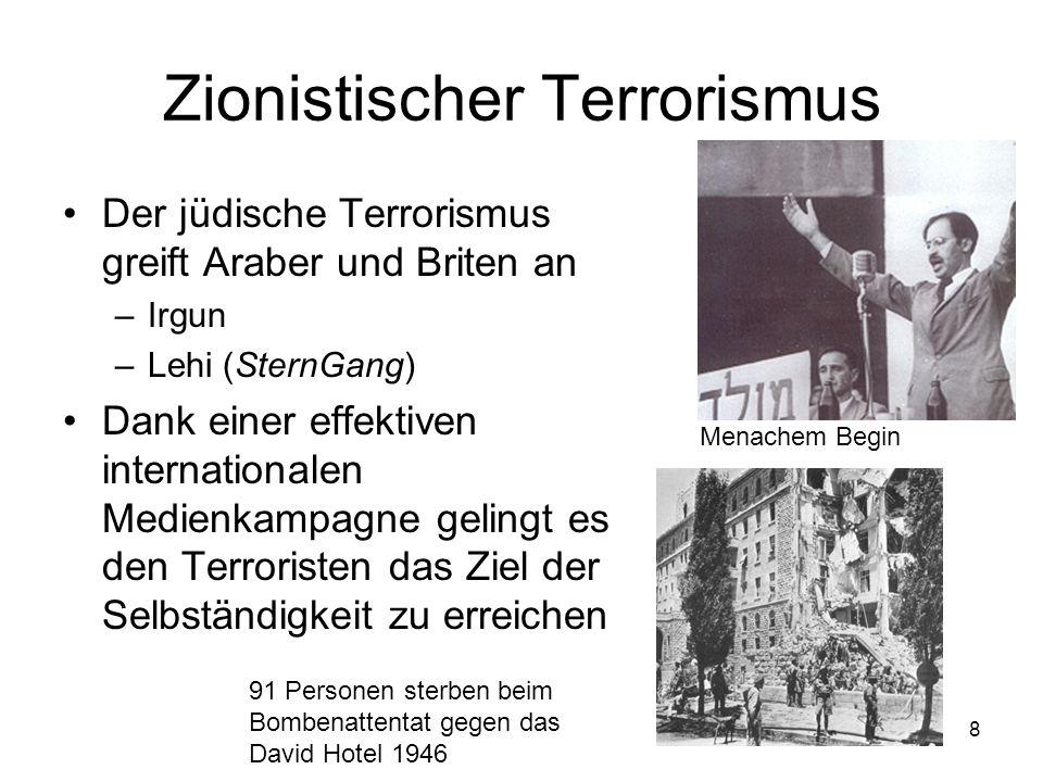 Zionistischer Terrorismus