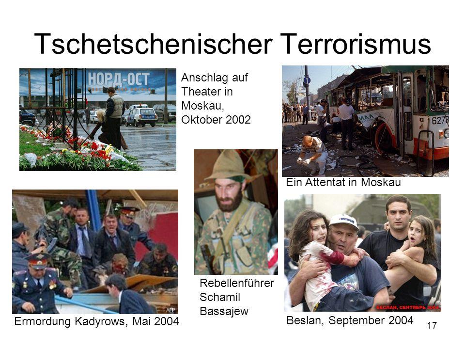Tschetschenischer Terrorismus