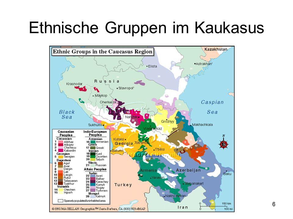 Ethnische Gruppen im Kaukasus