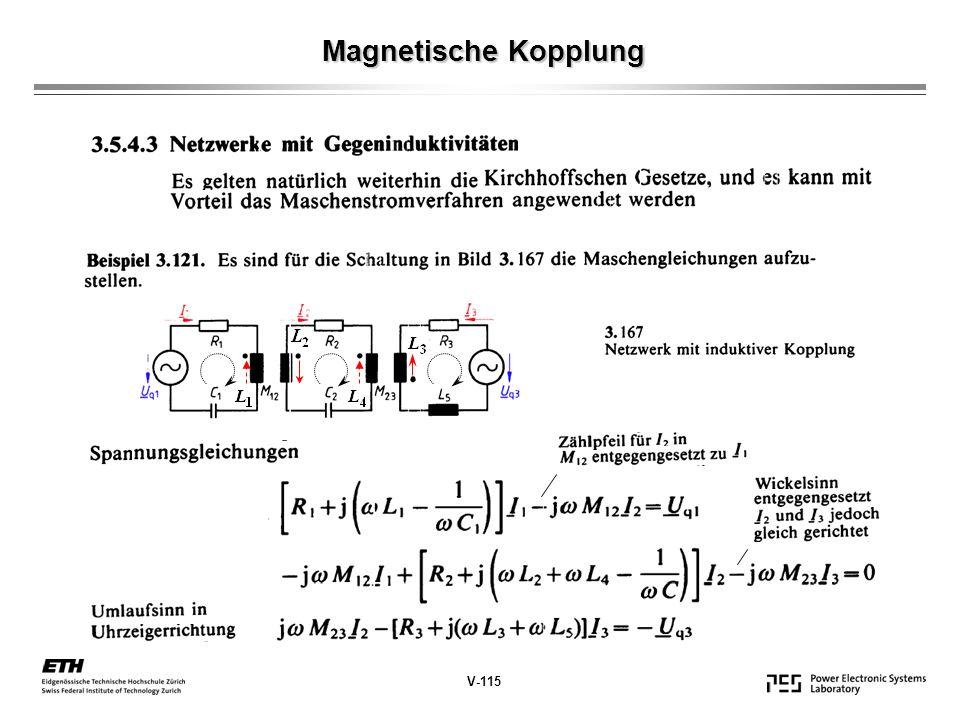 Magnetische Kopplung V-115