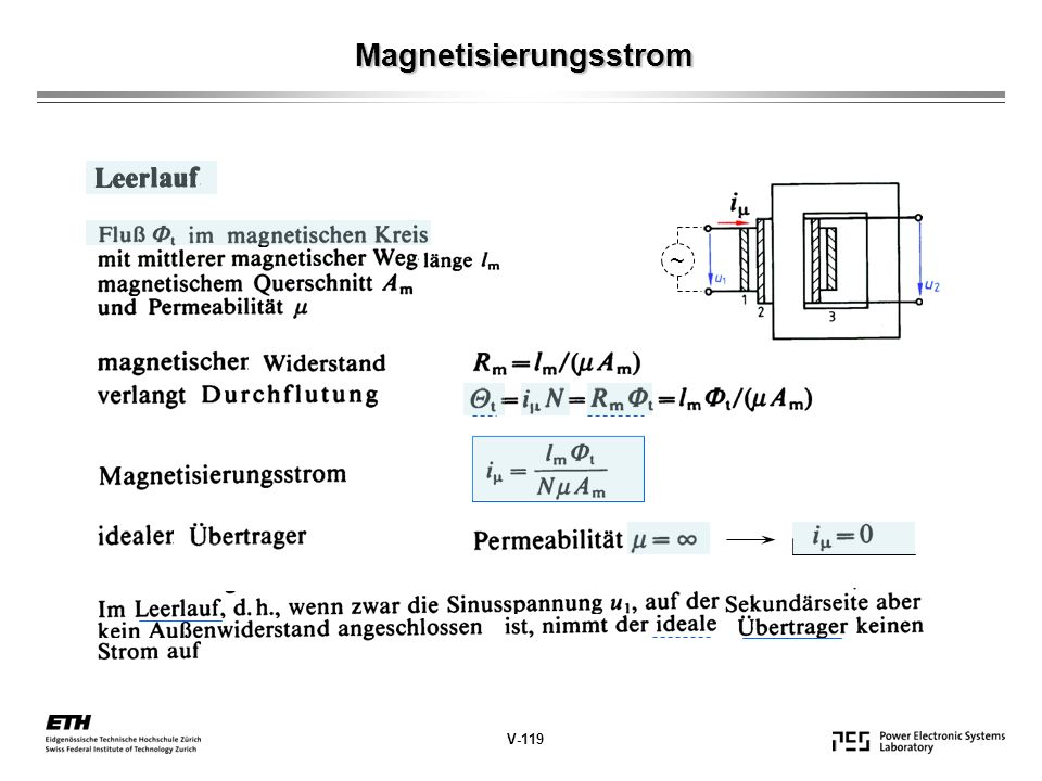 Magnetisierungsstrom