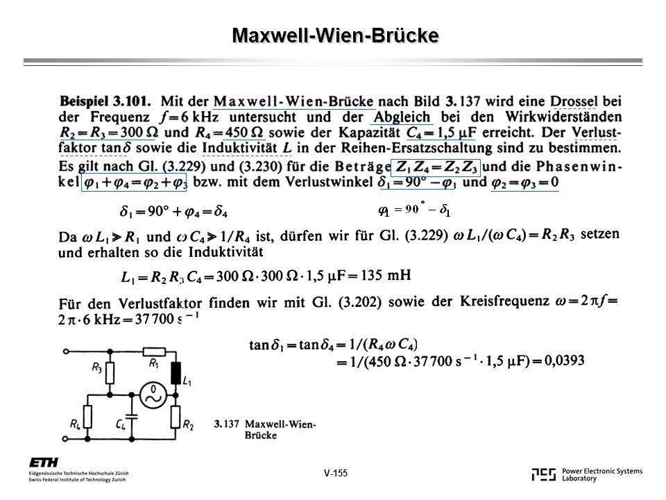 Maxwell-Wien-Brücke V-155