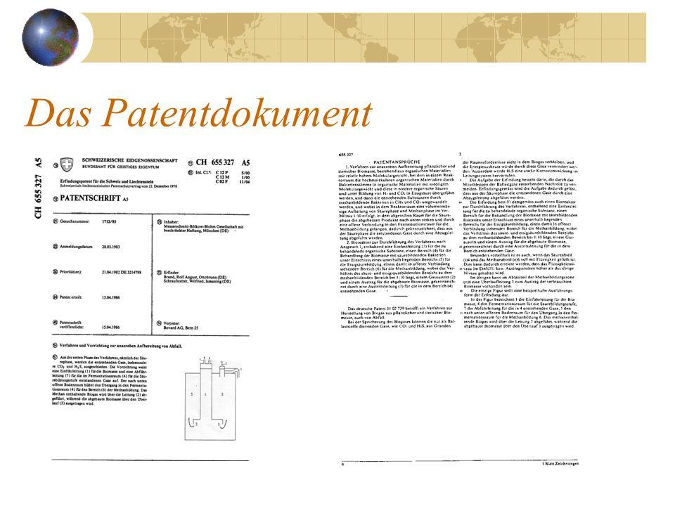 Das Patentdokument