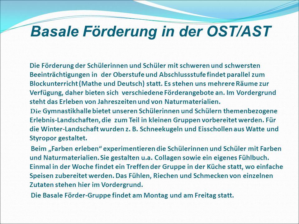 Basale Förderung in der OST/AST