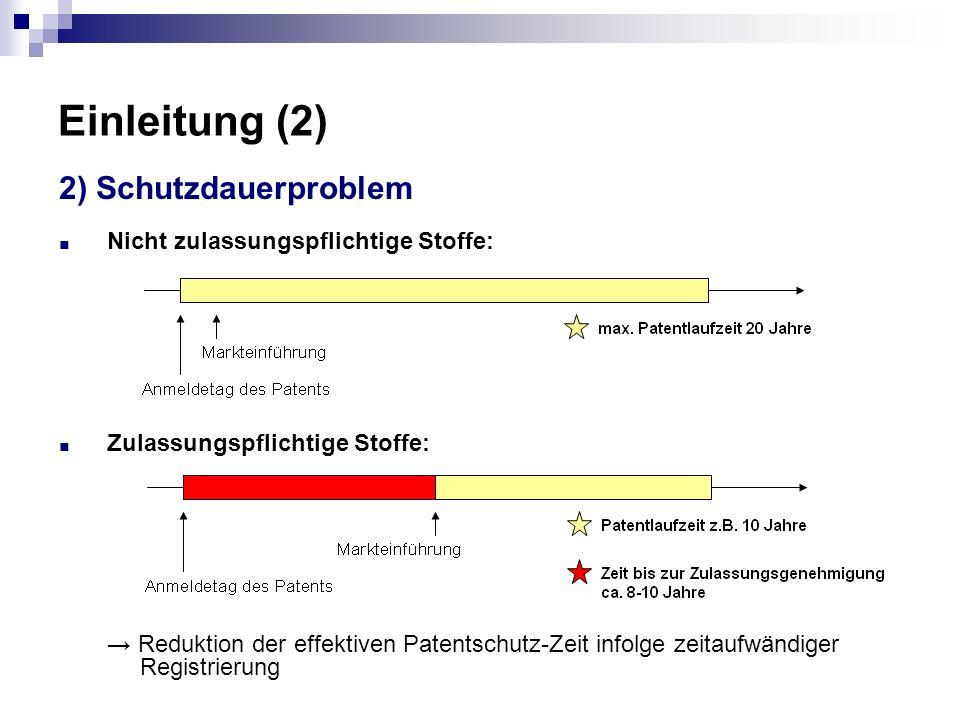 Einleitung (2) 2) Schutzdauerproblem