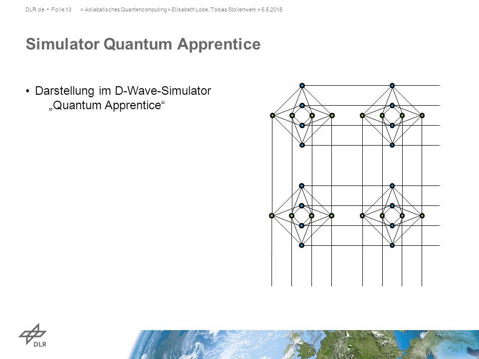 Simulator Quantum Apprentice