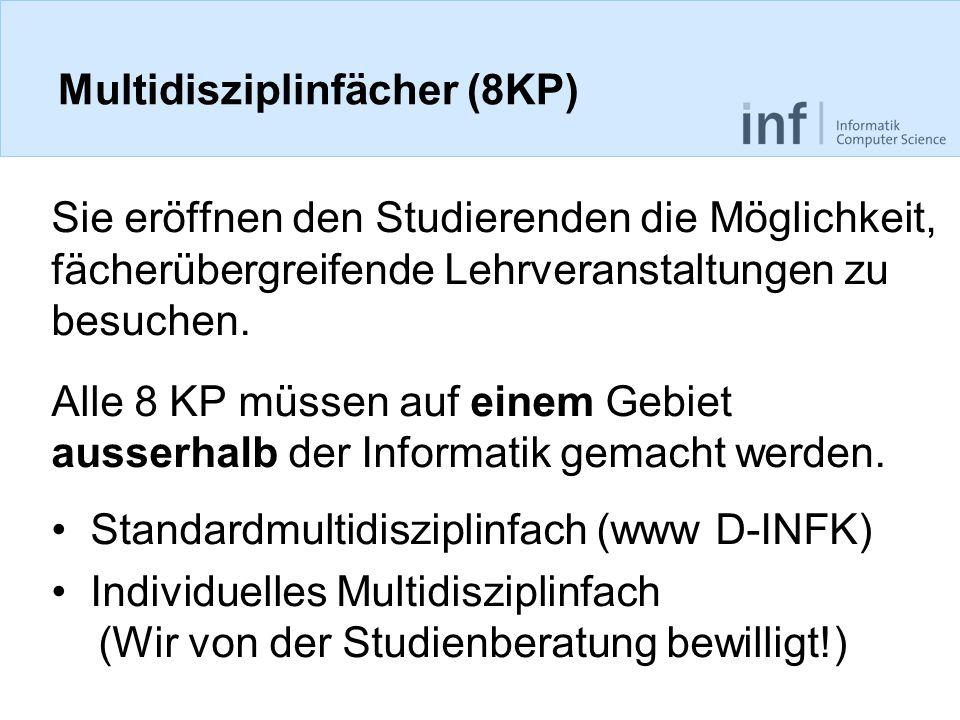 Multidisziplinfächer (8KP)