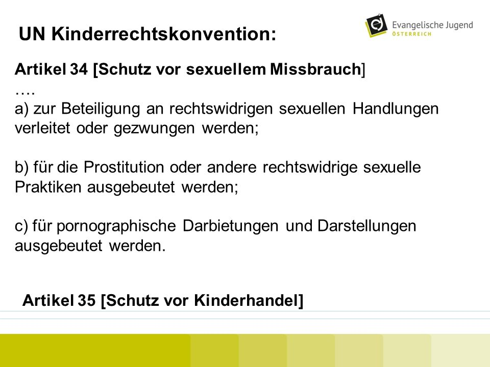 UN Kinderrechtskonvention: