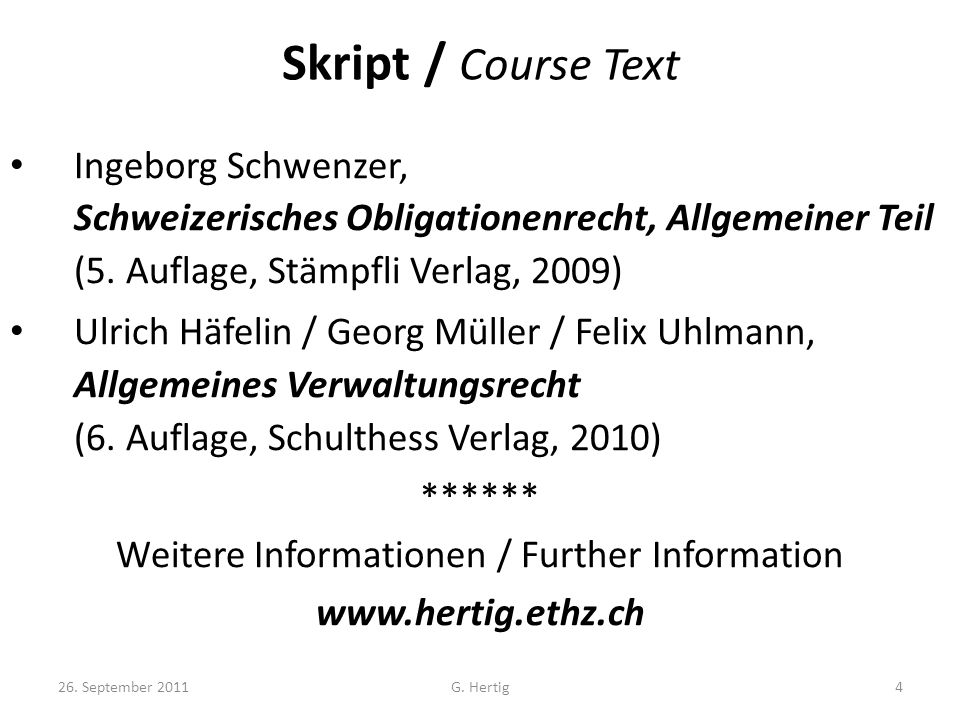 Weitere Informationen / Further Information