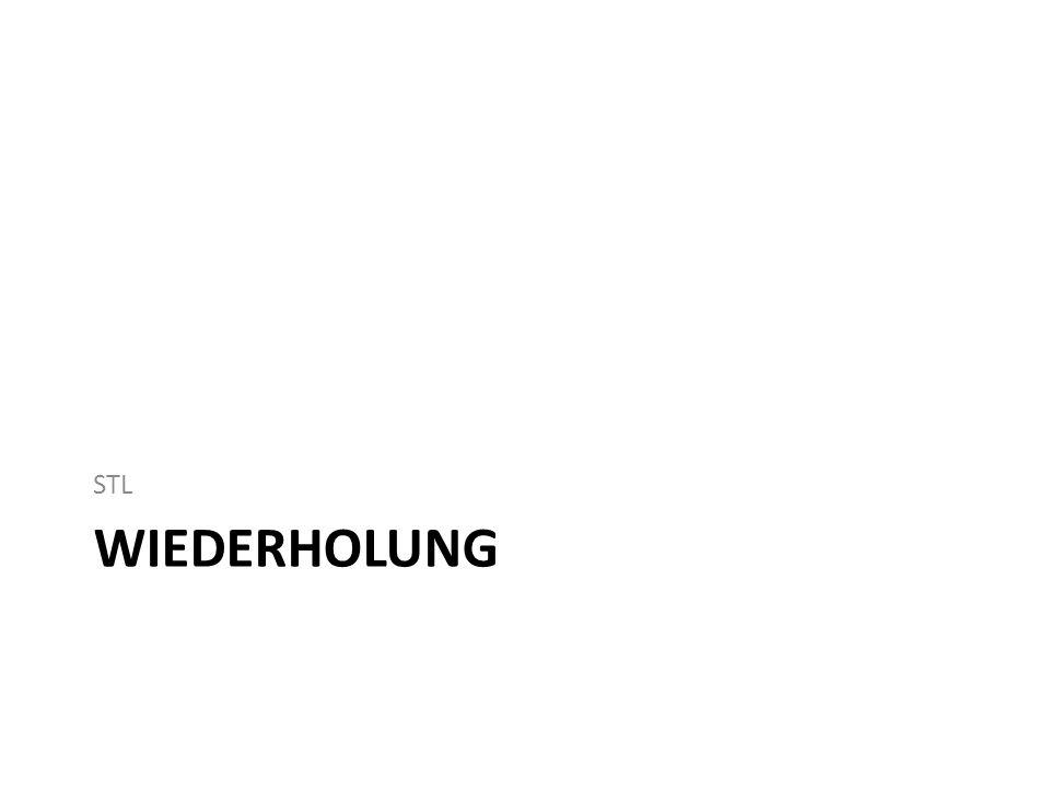 STL WIEDERHOLUNG