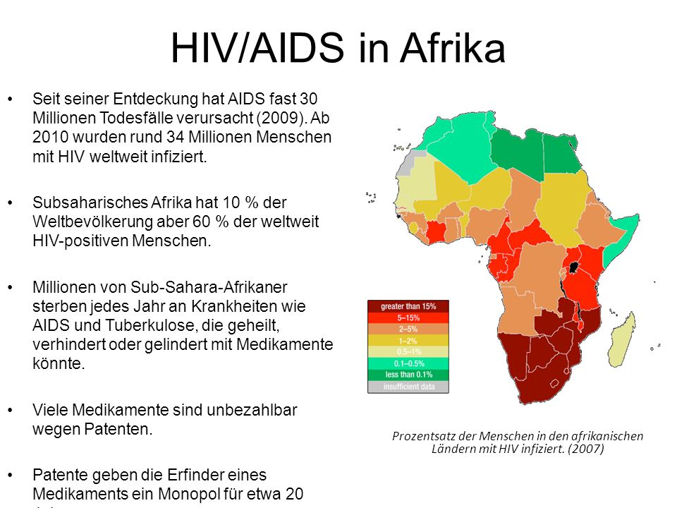 HIV/AIDS in Afrika