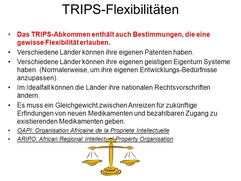 TRIPS-Flexibilitäten