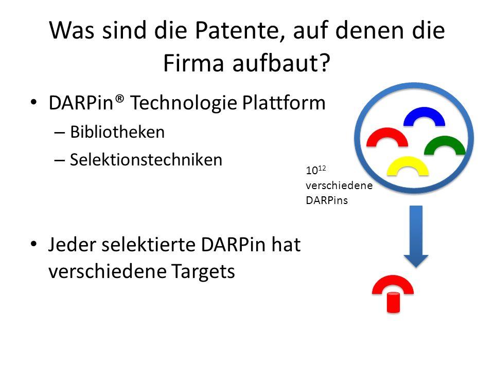 Was sind die Patente, auf denen die Firma aufbaut