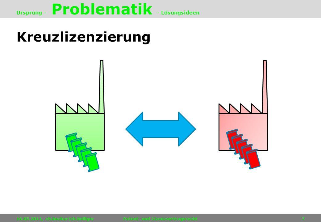 Ursprung - Problematik - Lösungsideen