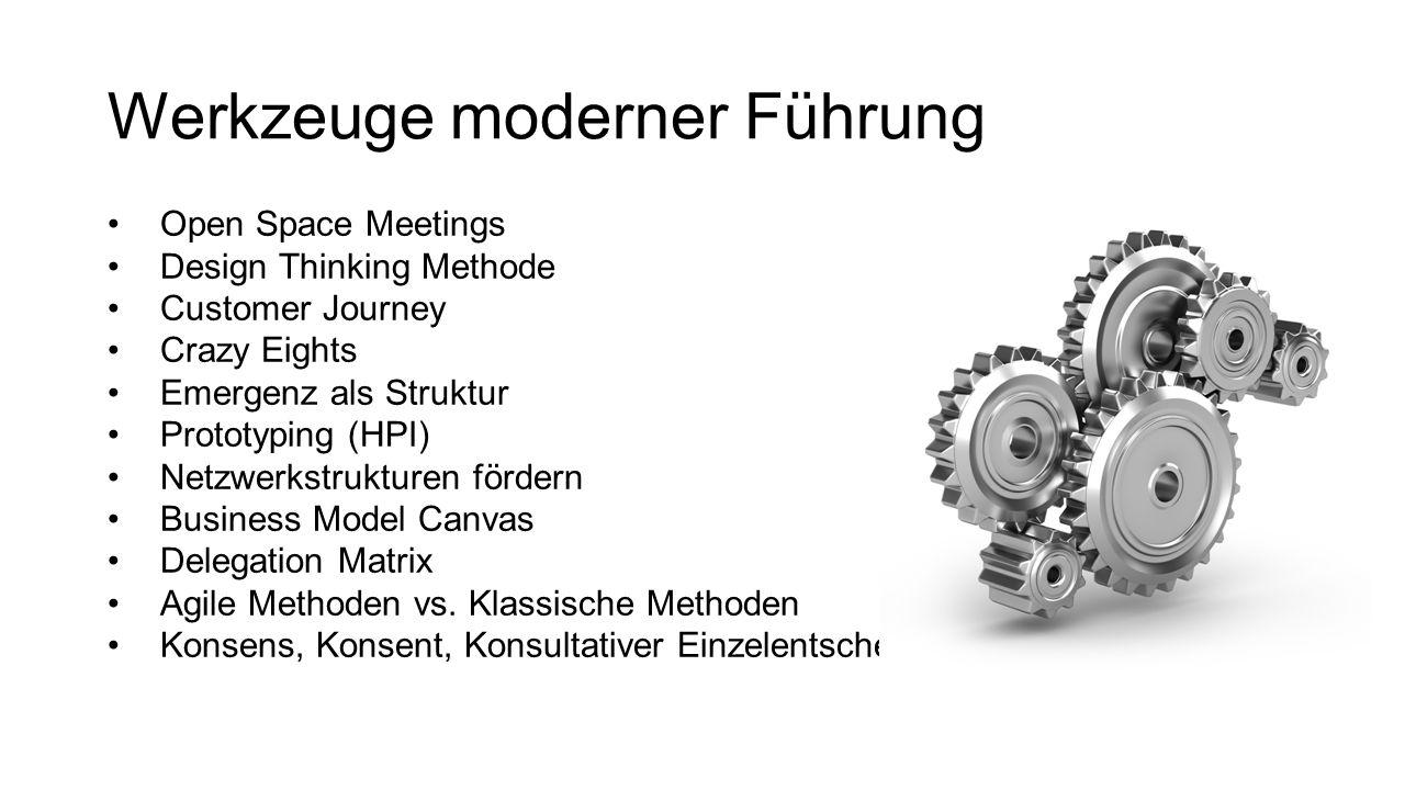 Werkzeuge moderner Führung