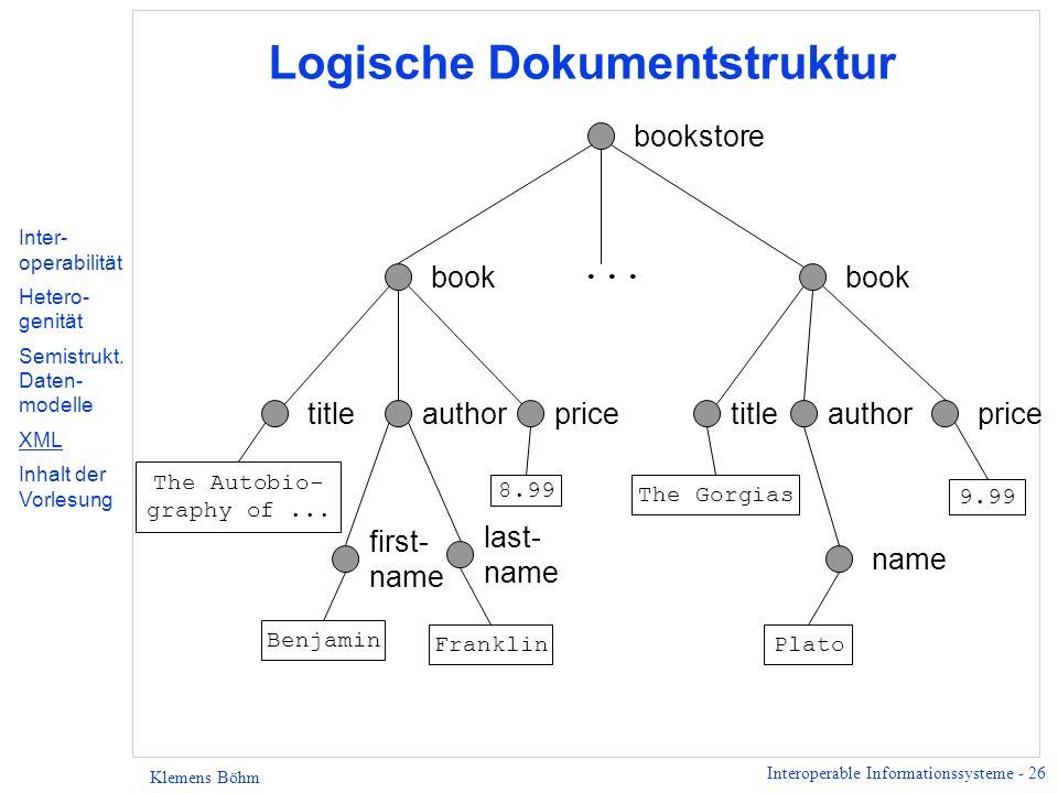 Logische Dokumentstruktur