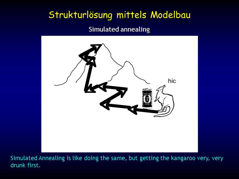 Strukturlösung mittels Modelbau