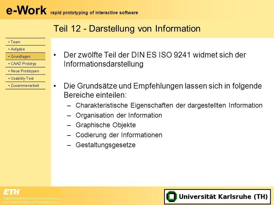 Teil 12 - Darstellung von Information