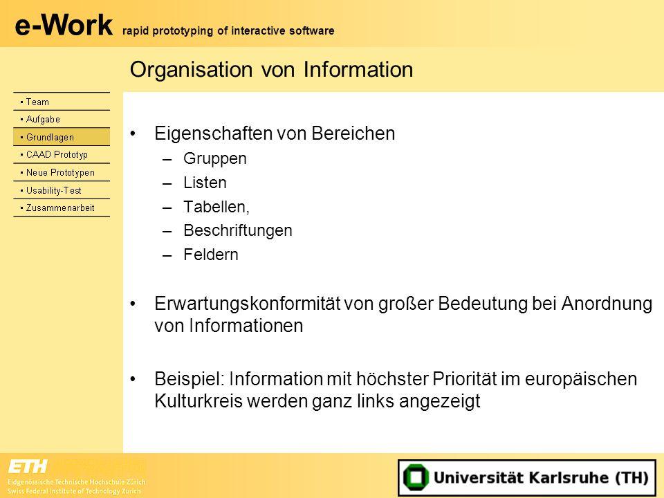 Organisation von Information