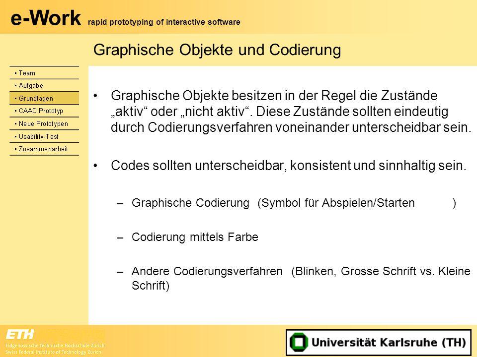 Graphische Objekte und Codierung