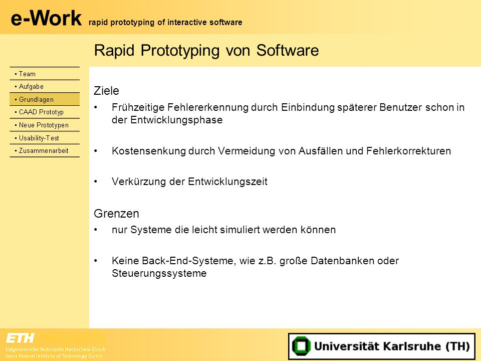 Rapid Prototyping von Software