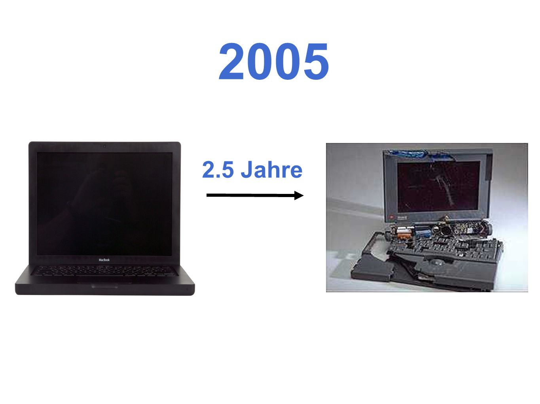 2005 2.5 Jahre.