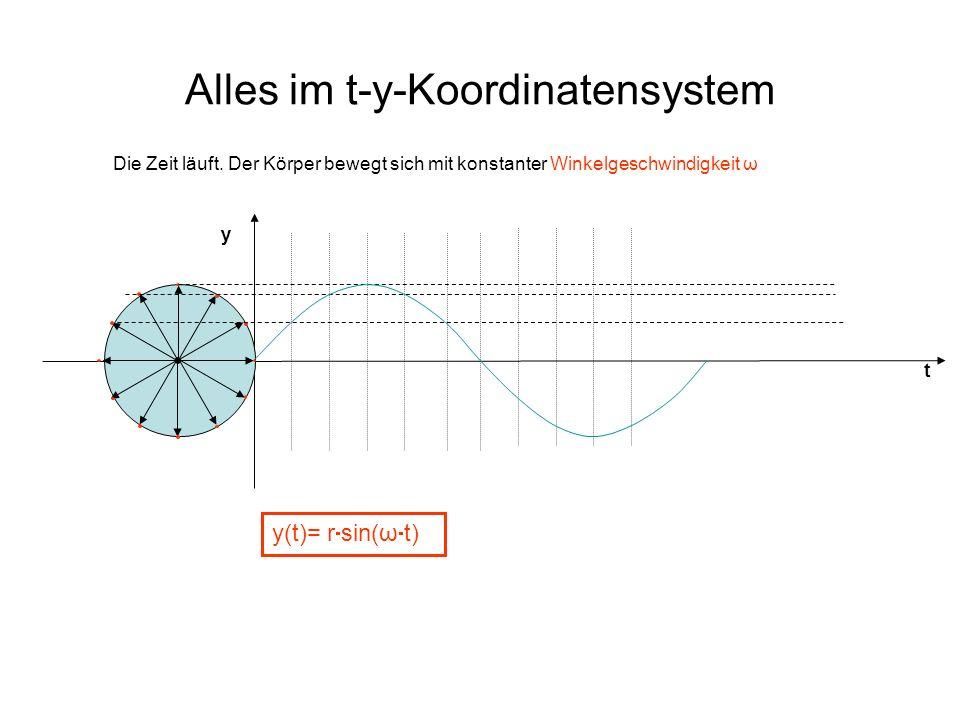 Alles im t-y-Koordinatensystem