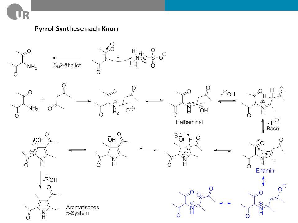 Pyrrol-Synthese nach Knorr