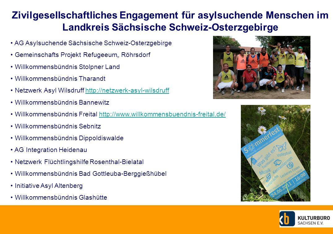 Zivilgesellschaftliches Engagement für asylsuchende Menschen im Landkreis Sächsische Schweiz-Osterzgebirge