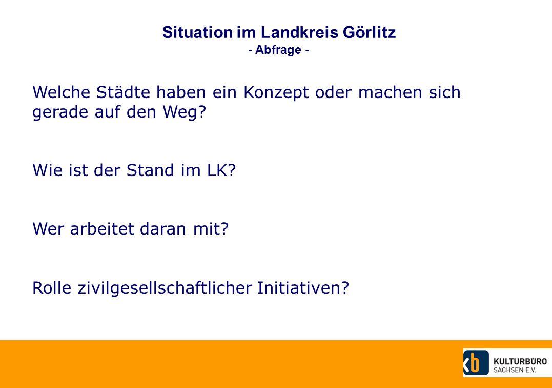 Situation im Landkreis Görlitz