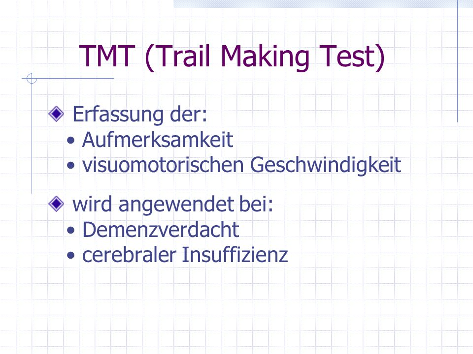 TMT (Trail Making Test)