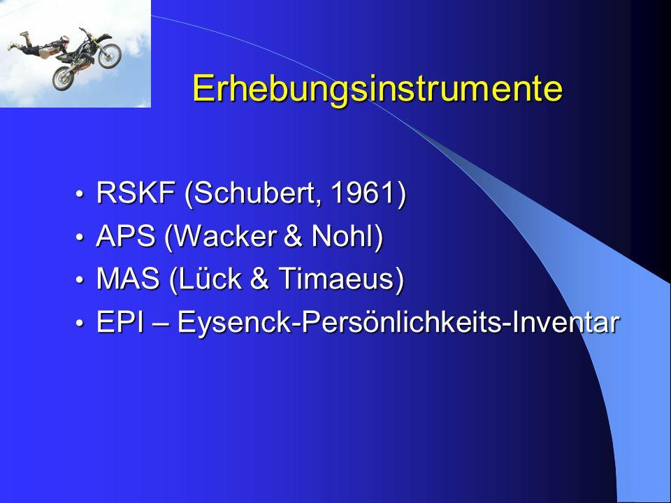Erhebungsinstrumente