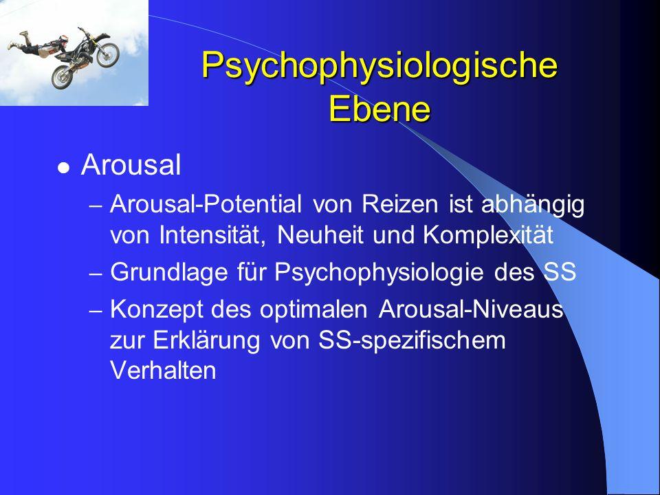 Psychophysiologische Ebene