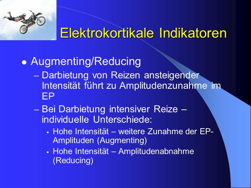 Elektrokortikale Indikatoren