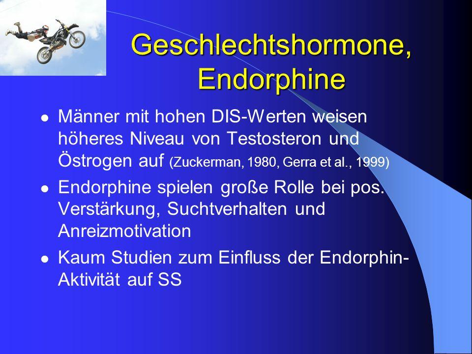Geschlechtshormone, Endorphine