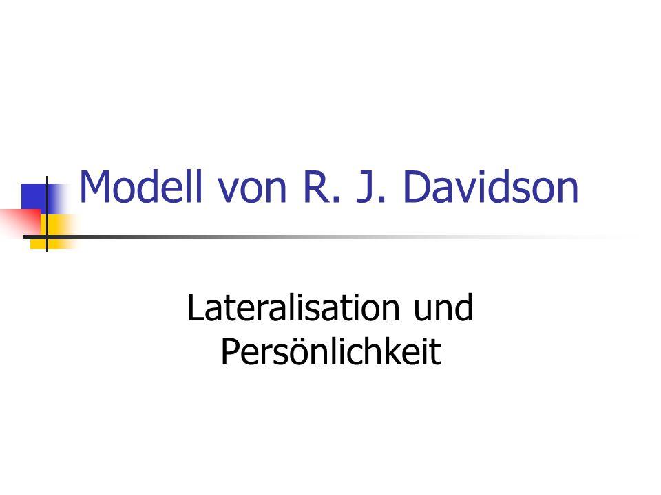 Lateralisation und Persönlichkeit