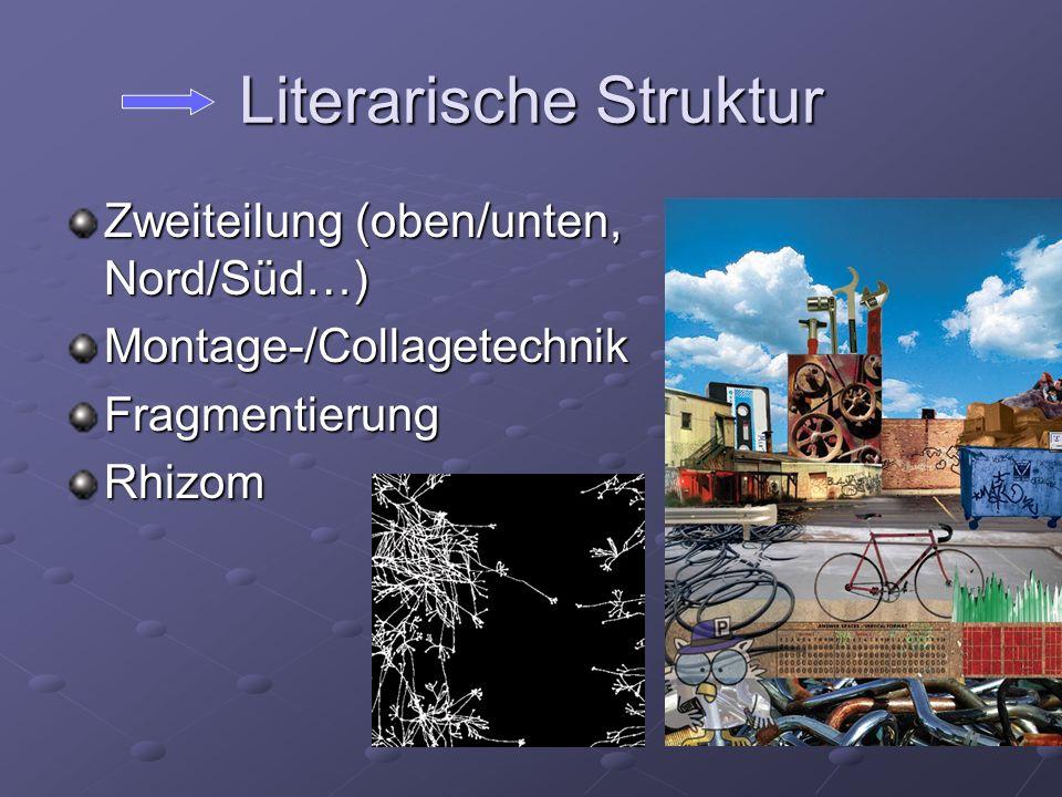 Literarische Struktur
