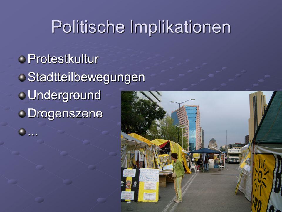 Politische Implikationen