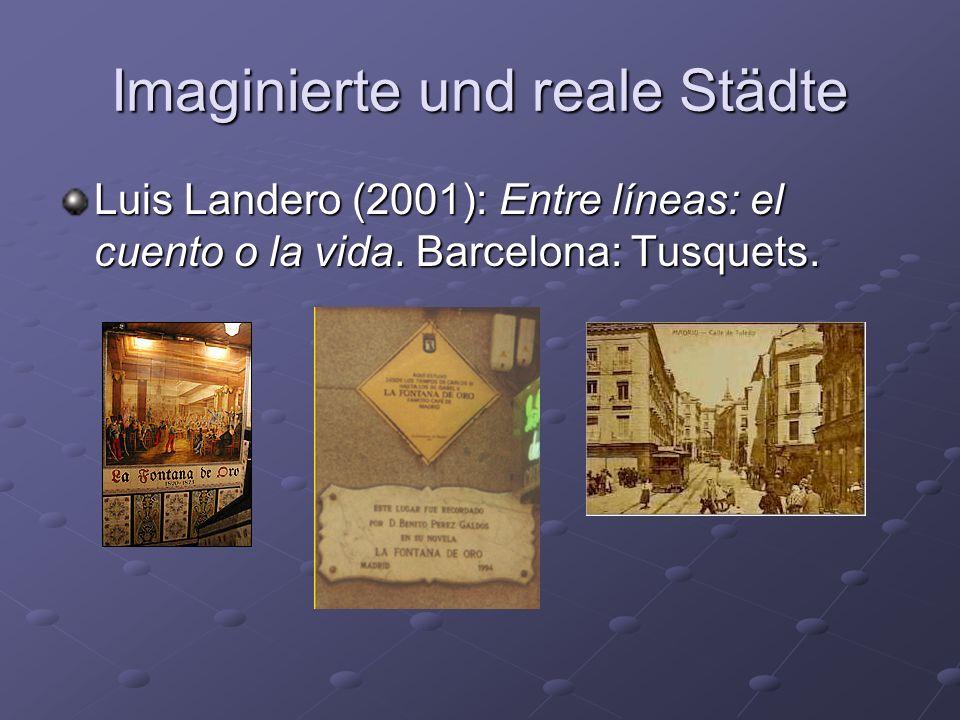 Imaginierte und reale Städte