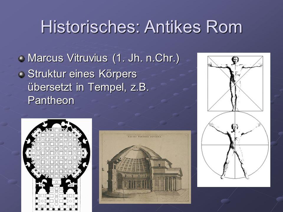 Historisches: Antikes Rom