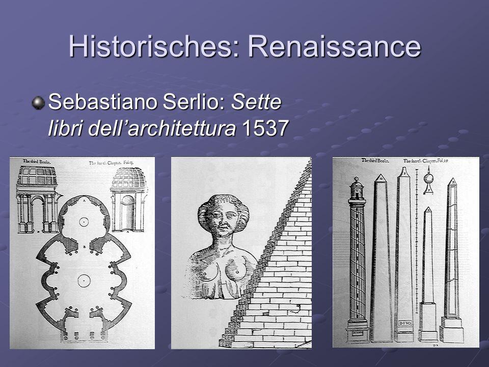 Historisches: Renaissance