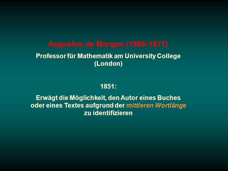 Professor für Mathematik am University College (London)