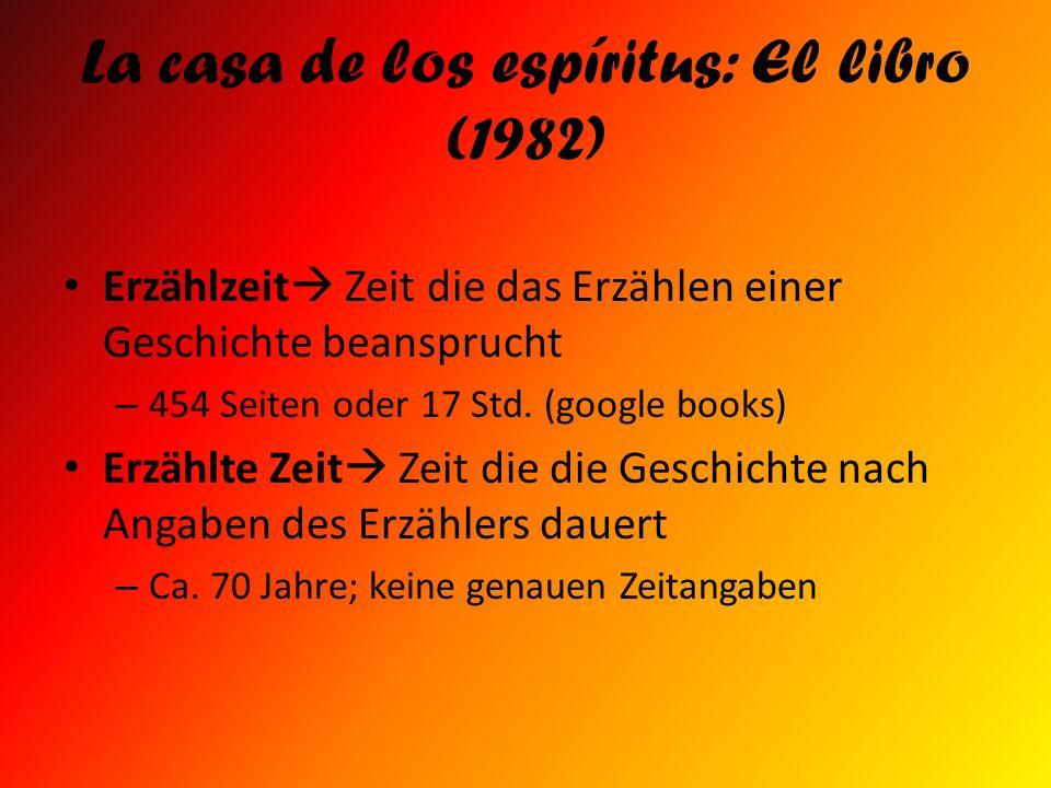 La casa de los espíritus: El libro (1982)