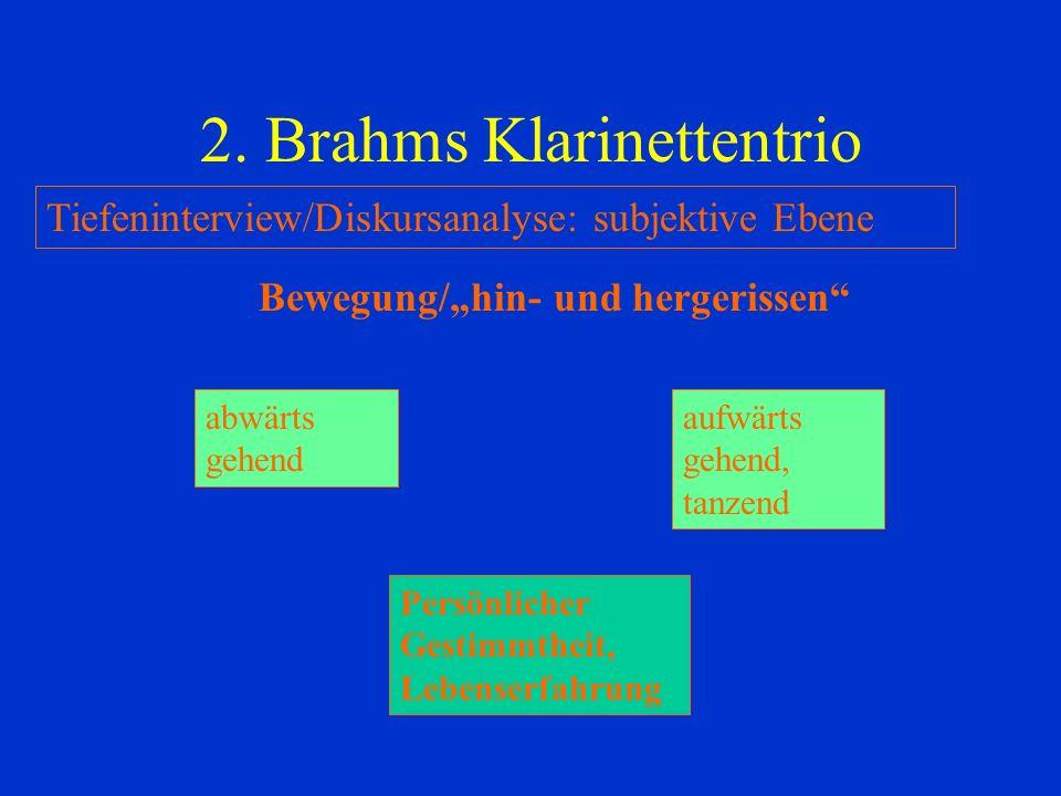 2. Brahms Klarinettentrio