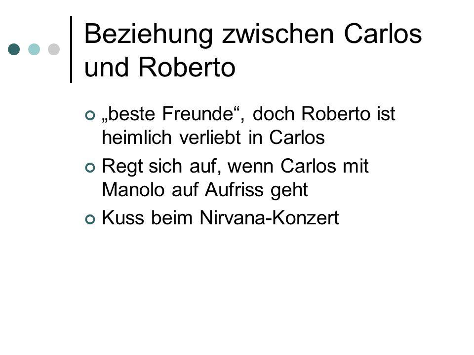Beziehung zwischen Carlos und Roberto