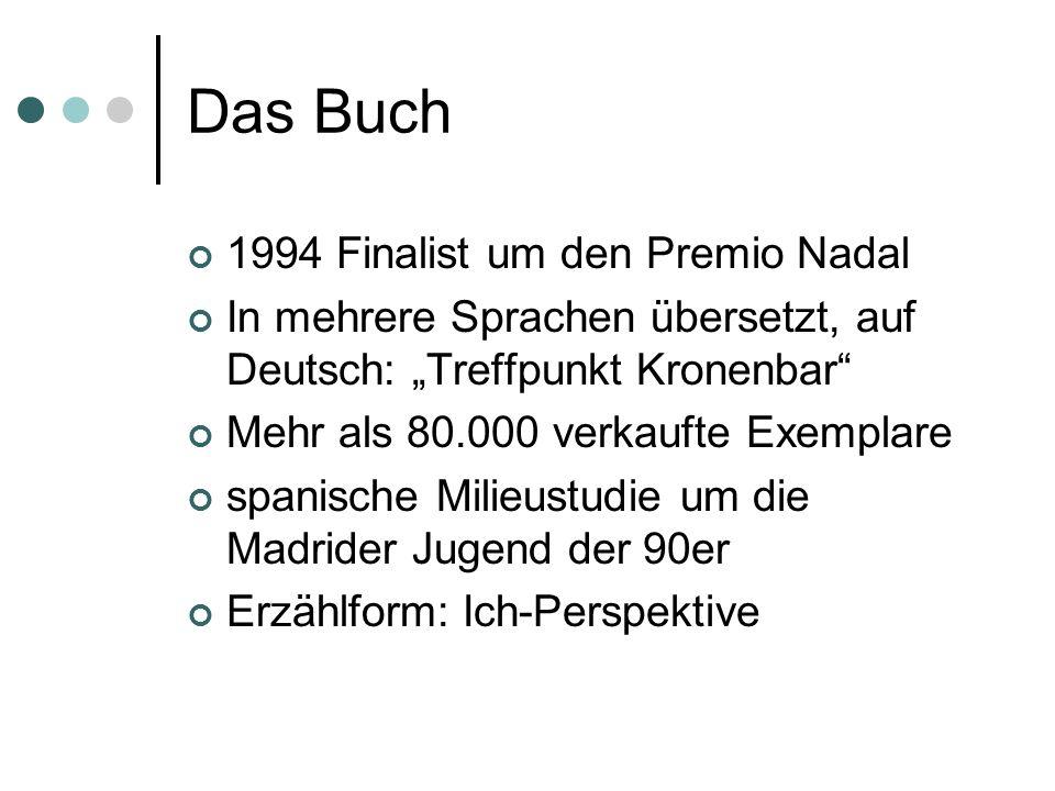 Das Buch 1994 Finalist um den Premio Nadal