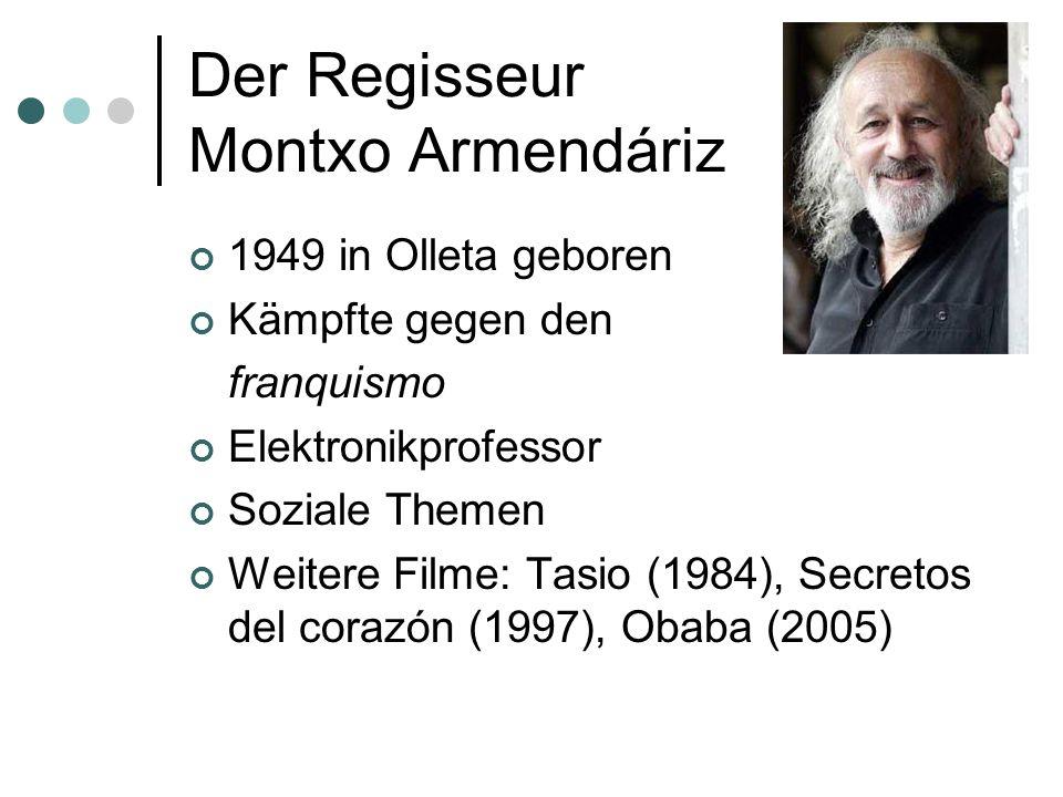 Der Regisseur Montxo Armendáriz