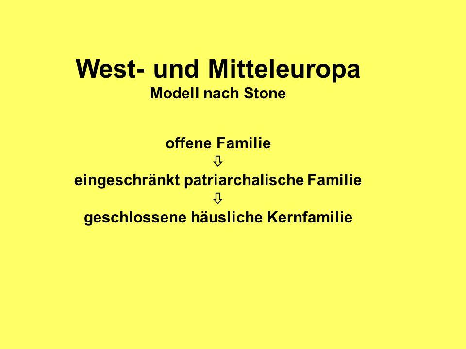 West- und Mitteleuropa